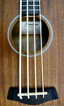 Gold Tone 'M-Bass25' Acoustic/Electric MicroBass sound hole